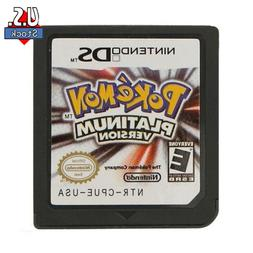 Brand New Pokemon Platinum Version Game Card for DS 2/3DS ND