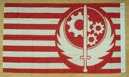 Brotherhood of Steel Flag 3x5 ft Banner Fallout Video Game X