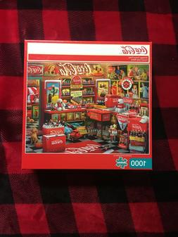 Buffalo Games Vintage Coca-Cola Jigsaw Puzzle 1000 Pc  !!!