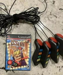 Buzz The Mega Quiz Sony PlayStation 2 PS2 Complete GAME with