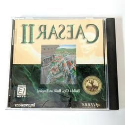 Caesar II 2 for PC.  Awesome Strategy Game