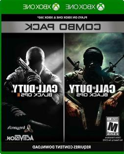 Call of Duty: Black Ops 1 & 2 Combo Pack X360/Xbox One New X