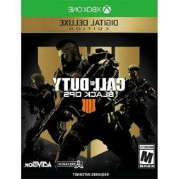 Call of Duty: Black Ops 4 Deluxe Edition Xbox One Please Rea