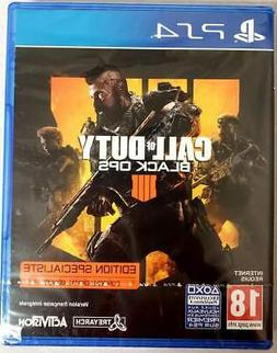Call of Duty: Black Ops 4 PS4  Brand New - Region Free