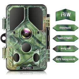 Campark WiFi Bluetooth Trail Camera Hunting 20MP No Glow Gam