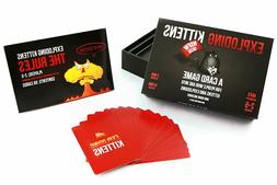 Exploding Kittens Card Game - NSFW  Edition - Card Games for