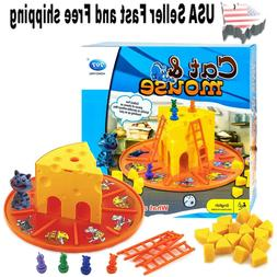Cat Mouse Table Games ~ Parent-child Interaction Fun Game  ~