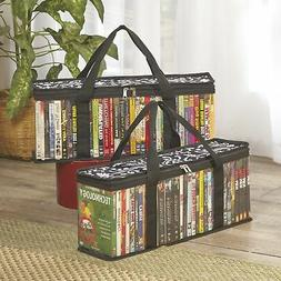 CD/DVD Storage Bags For Movies, CDs, Video Games, Blu-rays,