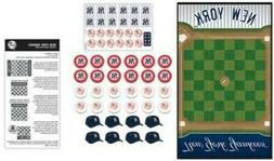 Checkers Board Game For Adults New York Yankees Checkers