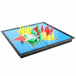 Chess Checkers Board Game For Family Indoor Games