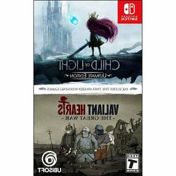 Child of Light Ultimate Edition + Valiant Hearts:The Great W