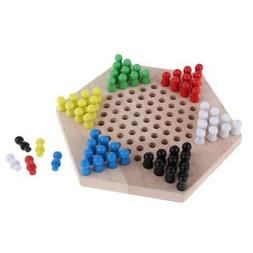 Classical Chinese Checkers Game Hexagon Checkers Game for Ad