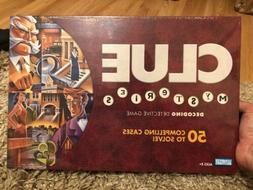 CLUE ~ MYSTERIES Board Game ~ 50 CASE MYSTERIES_100% Complet