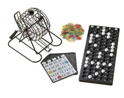 Complete bingo set for family fun. Rotary Cage Automatic Ran