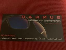 GUNNAR Computer Gaming Glasses VERTEX 54 16-135 Onyx Black w