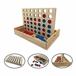 Connect 4 Travel Outdoor Games Yard Big Huge Four Lawn Woode