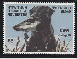 Conserve Game Stamps  1982-4