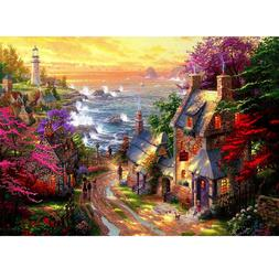 Cottage 1000 Pieces Puzzles Jigsaw for Kids Adults Learning