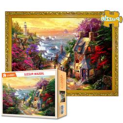 Cottage Jigsaw Puzzle 1000 Piece Puzzles Adults Kid Learning