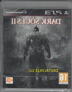 Dark Souls II 2 PS3 Sony PlayStation 3 Brand New Factory Sea