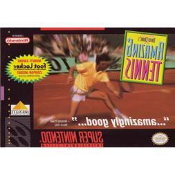 David Crane's Amazing Tennis - SNES
