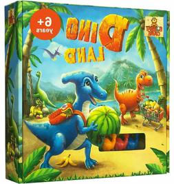 DINO LAND - Fun Dinosaur Board Games for Kids Ages 6 and Up