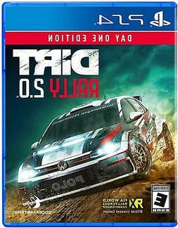 Dirt Rally 2.0 Day One Edition PS4  Brand New - Region Free