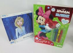 Disney Frozen Puzzle and Disney Minnie Mouse colorinc/Activi