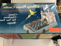 Novag  Disney Magic Castle 4-In-One Electronic Game Computer