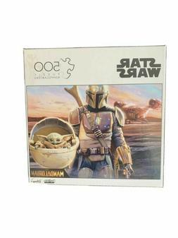 Disney Star Wars | The Mandalorian & Child | 500 Piece Puzzl