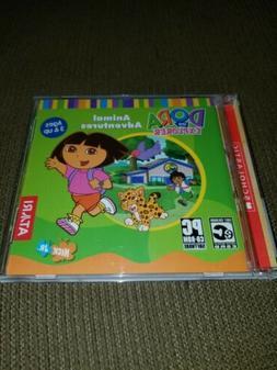 Dora The Explorer Kid's PC Game Animal Adventures Atari Ages