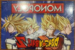 USAopoly Dragon Ball Z Edition Monopoly Board Game, New