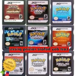 DS Game Cartridge Console Card Pokemon Series Black White He