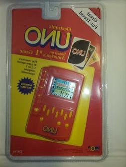 Electronic Uno Handheld Game Vintage 1994 NIP 231714 Rare Co