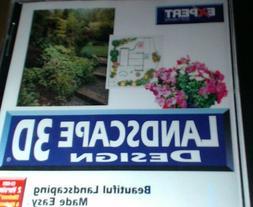 Expert Software Landscape 3D Design Home and Garden 1999 Win