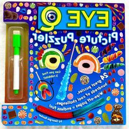 Eye Q Picture Puzzler, Children's dry erase puzzle board boo