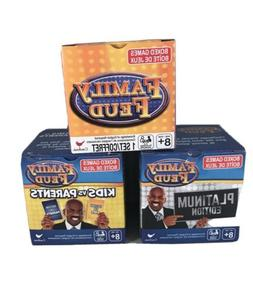 Family Feud Trivia Box Card Game, Platinum Edition, And Kids