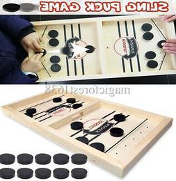Fast Sling Puck Game Paced SlingPuck Winner Board Fun Family