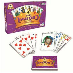 Five Crowns Card Game 5 Suites Classic Original Family Rummy