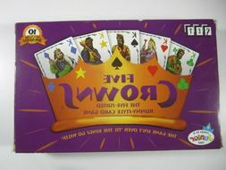 Five Crowns Card Game 5 Suites Classic Original Family Style