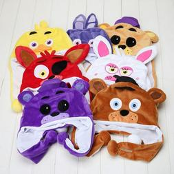 Five Nights At Freddy's FNAF Plush Toy Beanie  Hat  for Kids