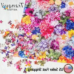 Flowers 1000 Piece Adult Puzzles DIY Family Adult Kids Games