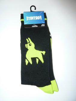 Fortnite loot llama crew socks video game merchandise clothe