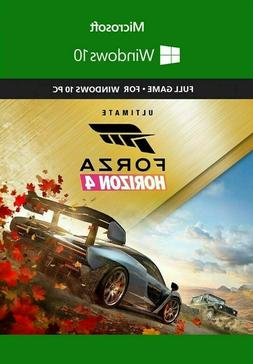 Forza Horizon 4 ULTIMATE EDITION + FH3UE  FULL GAME