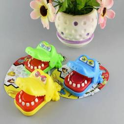 Funny Big Crocodile Mouth Dentist Bite Finger Toy Family Gam