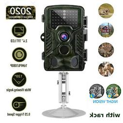 Game & Trail Hunting Camera 16MP 1080P Wildlife Cam No Glow