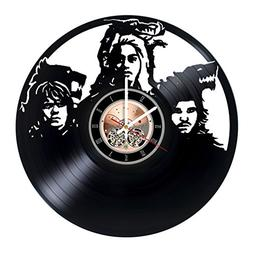 Game of Thrones Vinyl Record Wall Clock - Bedroom or home wa