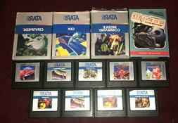 Atari 5200 Games Lot Complete Fun Pick & Choose Vintage Vide