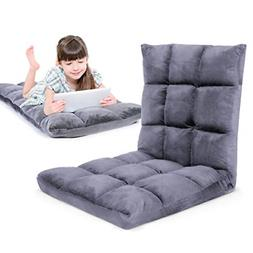 Gaming Floor Sofa Adjustable Chair for Adults & Kids - Comfo