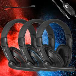 Gaming Headset Stereo Sound Headphone For PS4/Nintendo Switc